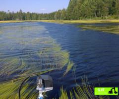 Nettoyage de lacs - SLAT Lafitte